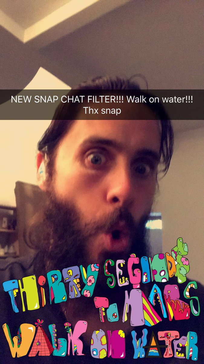 #ShazamWalkOnWater in @Snapchat to unlock the new MARS filter!! https://t.co/zA2vZF3Vj4