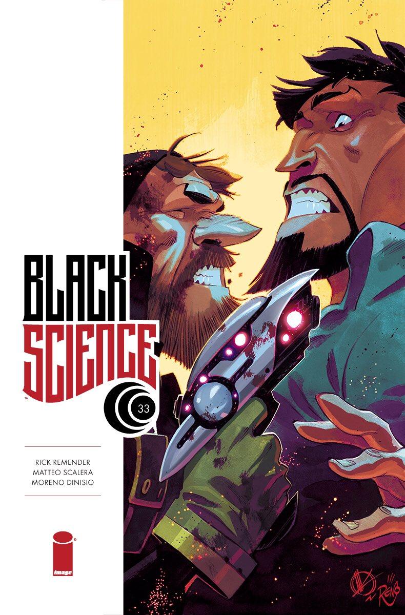 BLACK SCIENCE #33 by @Remender & @ScaleraMatteo  on sale November 01! @ImageComics @GiantGenerator https://t.co/dZmrhR6AbG