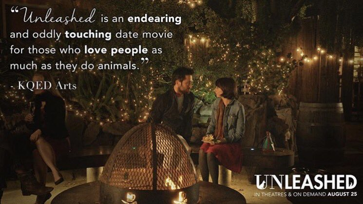 Watch my dog and cat turn into men in this super sweet romantic comedy! Check out UNLEASHED! https://t.co/5uFUMHGA0l https://t.co/QDX9S4fTTE
