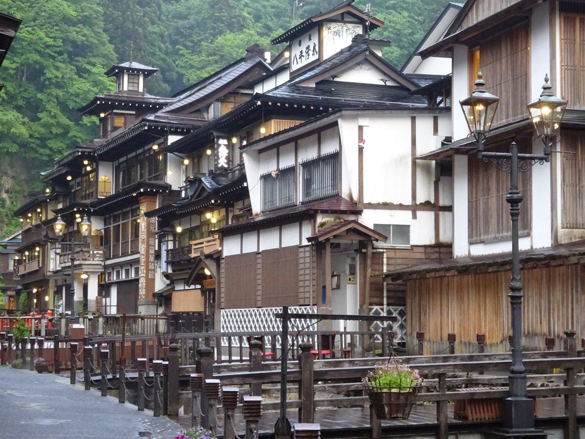全世界のアニメファンが選んだ『訪れてみたい日本のアニメ聖地88」 に山形県尾花沢市から2つのアニメが選ばれました銀山温泉