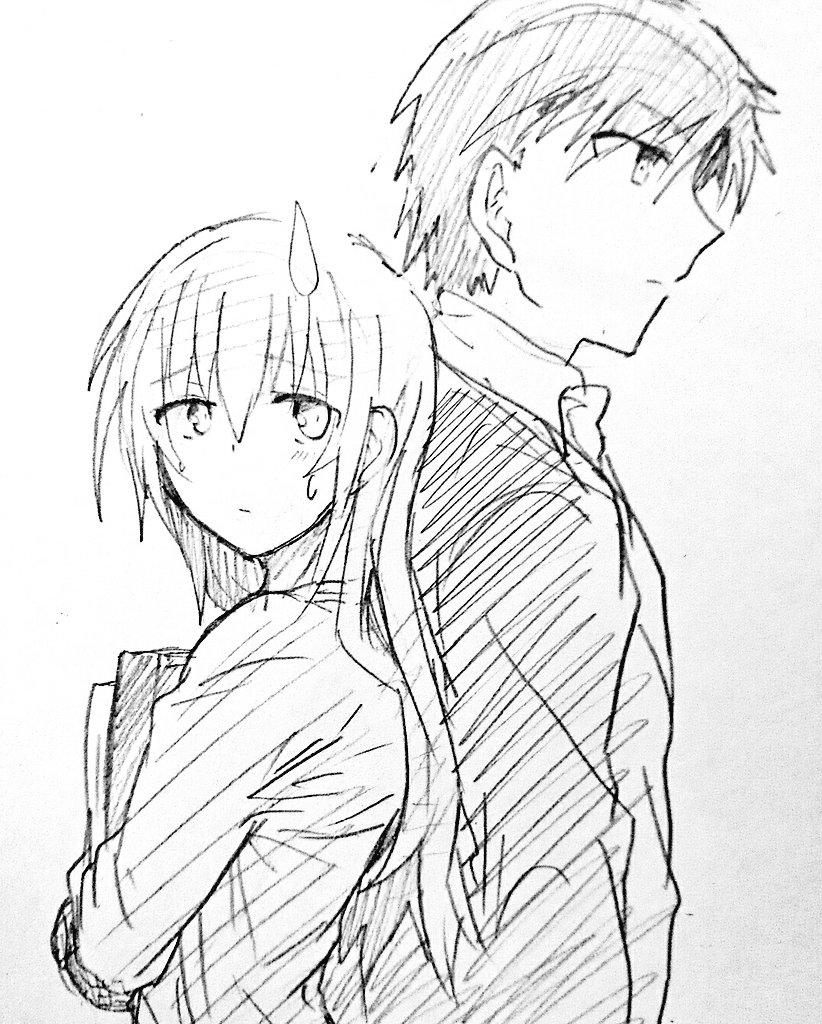 お題箱から   #odaibako【サーバント×サービス】三好沙耶と田中譲治この2人好きです