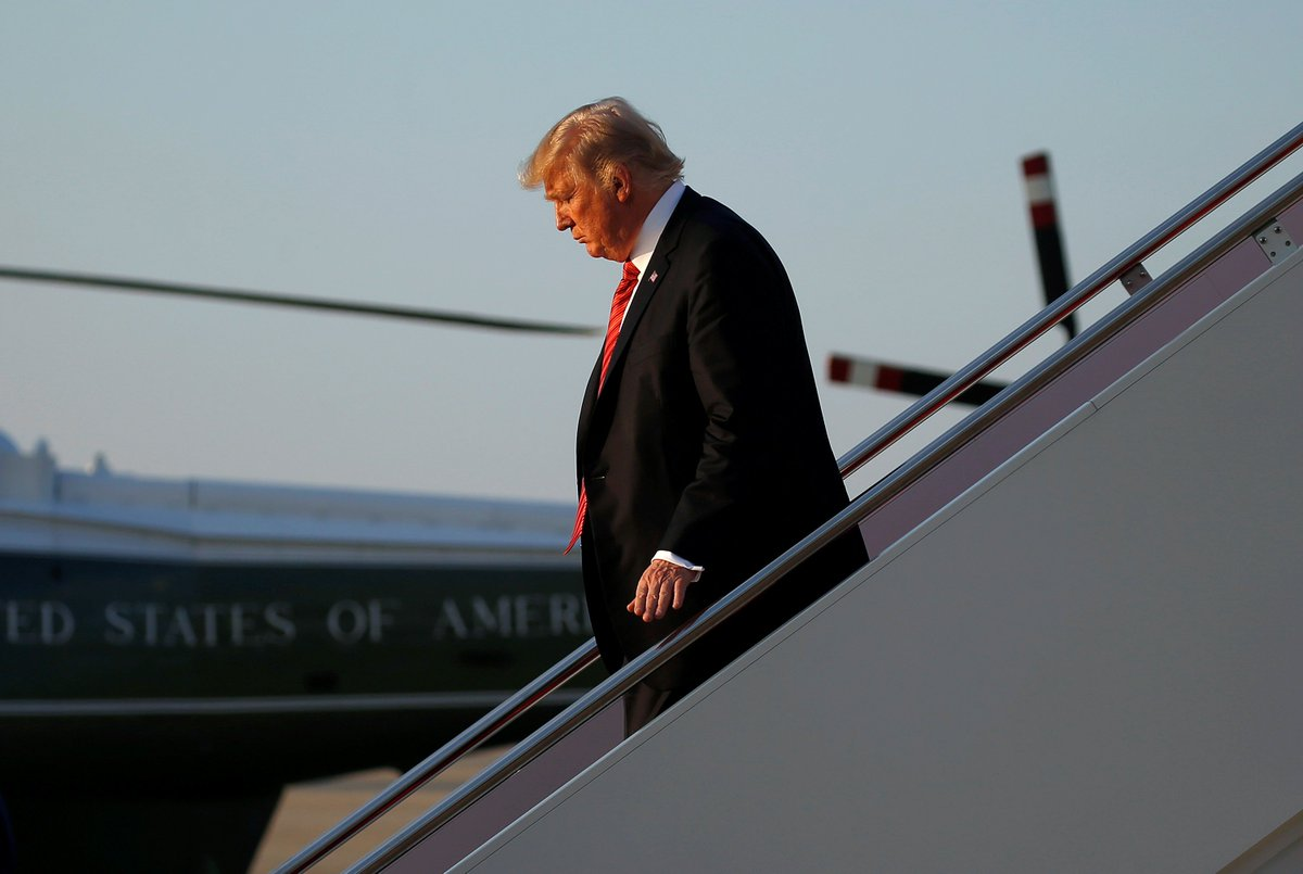 Donald Trump's approval rating is bad and getting worse