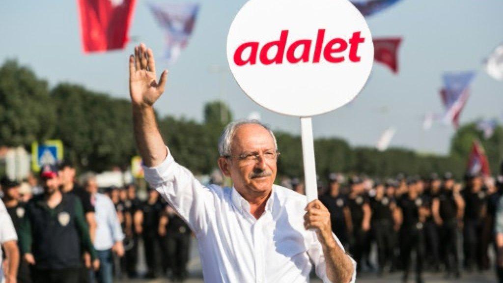 Turkey opposition chief hosts 'justice congress' in challenge to Erdogan