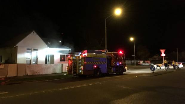 Suspicious house fire after central Christchurch break-in