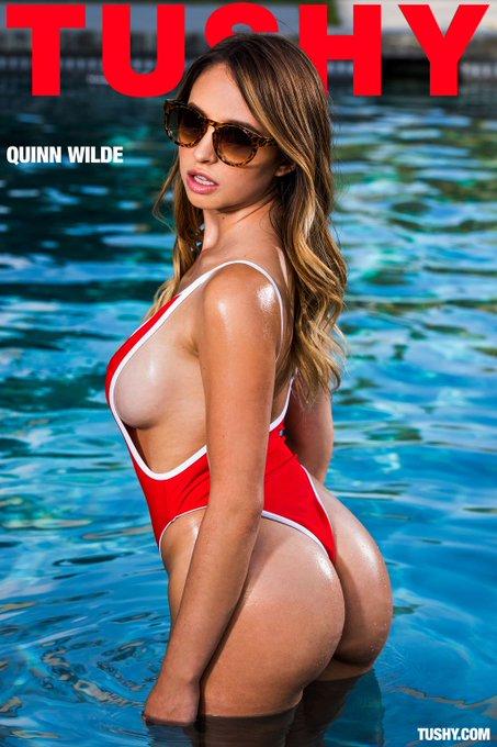 No better way to beat the heat than taking a dip w/ @quinnwildexxx! 😎💦 #tushy https://t.co/lmvKSfg0c