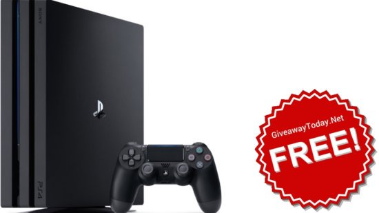 Win Sony PS4 Pro Giveaway October 2017