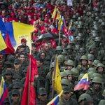 Venezuela shows off troops, weapons to defy Trump