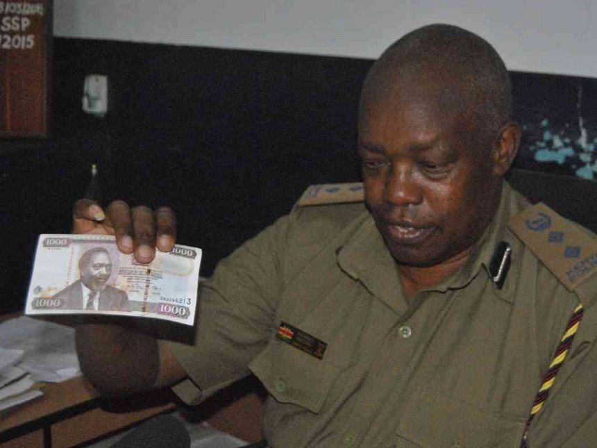 Two M-Pesa cons arrested, fake Sh1,000 notes found in Malindi