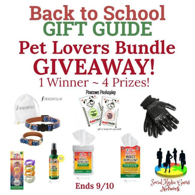 Pet Lovers Bundle Giveaway (9/10 US)