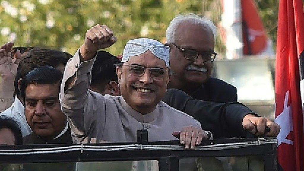 Pakistan court acquits Zardari in corruption case