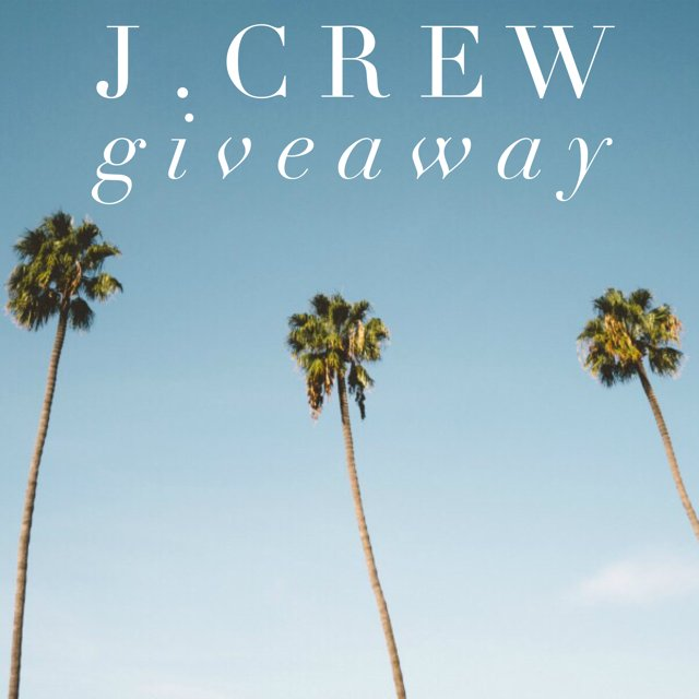 $150 J.Crew Gift Card Giveaway