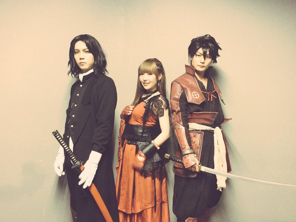 アニサマ、黒崎真音さんのステージに蓮さんと出演しました!蓮さんが島津豊久役、俺が土方歳三役を演じました!めちゃくちゃいい