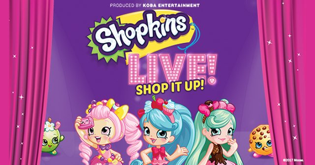 Shopkins LIVE! at the Ford Community & Performing Arts Center in Dearborn {giveaway ends 9/26}
