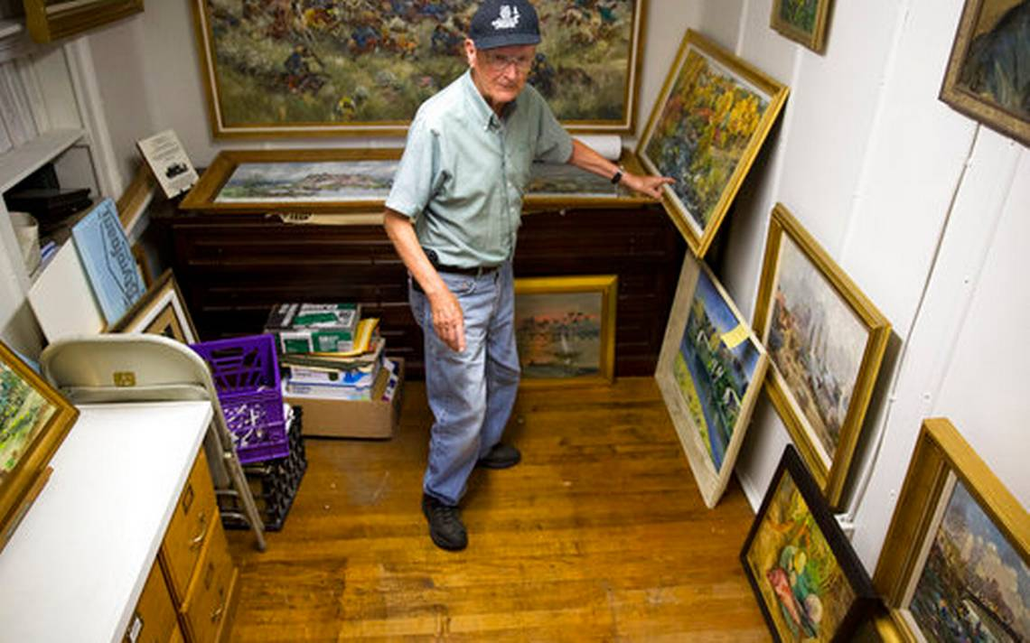 Tiny museum seeks to revive interest in forgotten artist