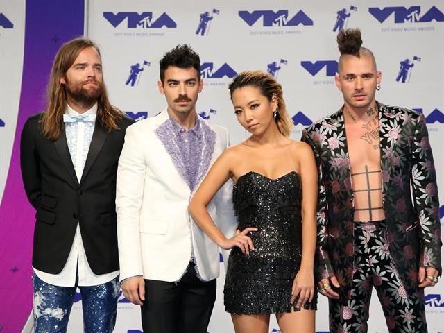 We here fuckers. #VMAs2017 https://t.co/XFhYb0k6rl