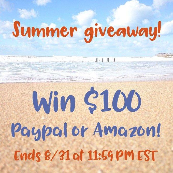 $100 Summer Giveaway