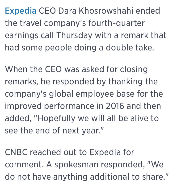 Notable worrying-about-Trump quote from the new Uber CEO in an Expedia earnings call https://t.co/h87WlohaOg https://t.co/fjmhfQnIN9
