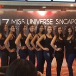 Miss Universe Singapore 2017 introduces its Top 20 finalists