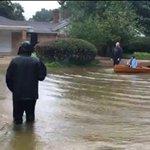 Former FOX 2 reporter keeps watch on Harvey's heavy rain, risingwater