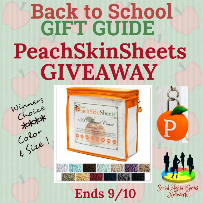 PeachSkinSheets Giveaway