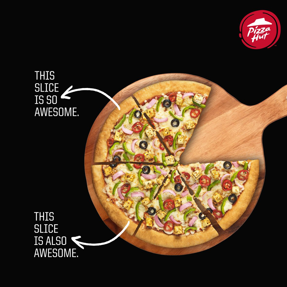 Why be picky Every slice is bursting with awesomeness ThinkPizzaThinkPizzaHut https t.co 04Oqk2NGsn