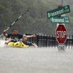 Tropical Storm Harvey paralyses Houston, Texas