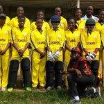National women's cricket team returns from Kenya