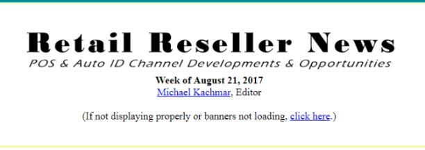 """test Twitter Media - Coverage of our new partnership with @Think_BlueStar featured in #RetailResellerNews """"Alliances"""" section:  https://t.co/aq0F2BkZMx https://t.co/zYwrY4SmVM"""