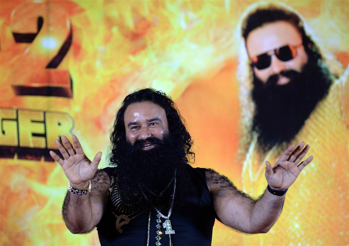 A bling-loving guru in India has been sentenced to 10 years in jail for rape