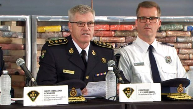 WATCH LIVE: $250M of pure cocaine seized in largest drug seizure in OPP history