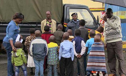 Police in Kericho arrest two people suspected of trafficking 14 minors
