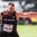 Kiwi shot put world champion Tom Walsh wins IAAF World Challenge event