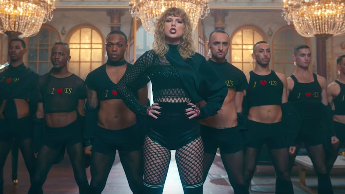 Taylor Swift Is Selling Those 'I ?? TS' Shirts From The 'Look What You Made Me Do' Video