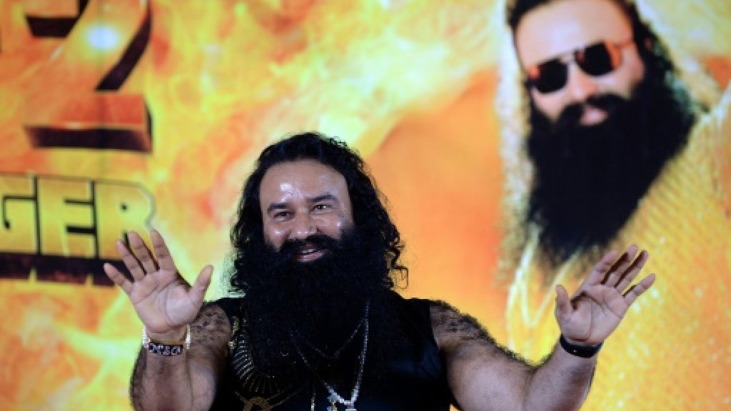 Dark history behind India's 'guru in bling'