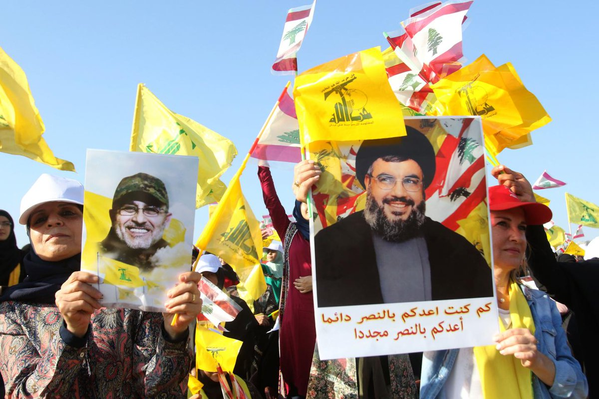 """Hezbollah declares """"Second Liberation Day"""" after Lebanon beats ISIS"""