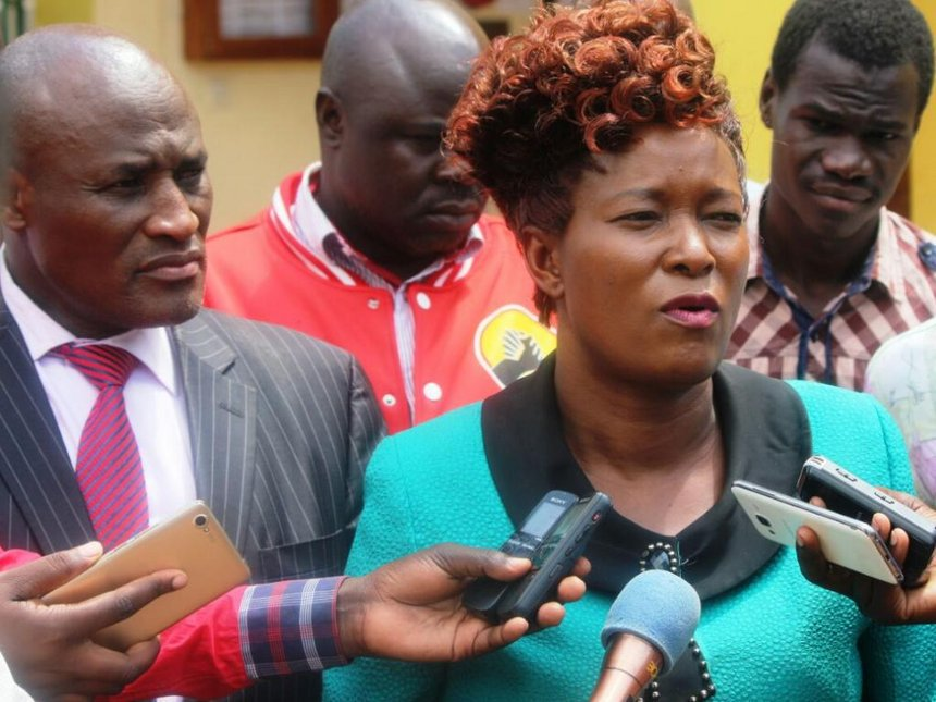 Mary Emaase challenges Geoffrey Omuse's Teso South MP win in court