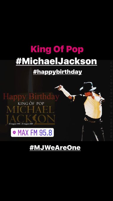 Happy Birthday Michael Jackson