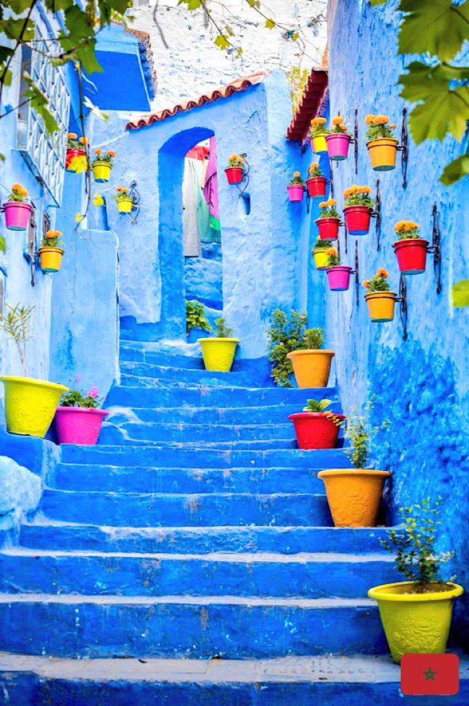 RT @HEIS_Tswvlis: RT @HBPDK: #Blue #Pearl #Chefchaoun #Morocco #Maroc #Marokko #المغرب #Travel https://t.co/Ta8nyE5oLm (Beautiful!)
