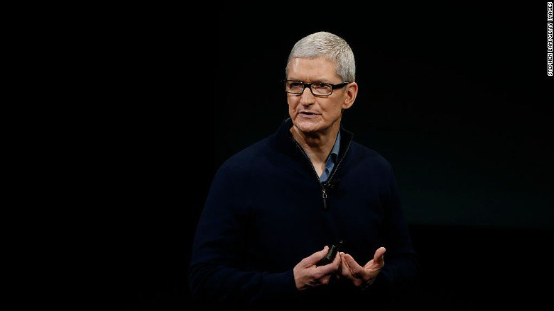 Apple's Tim Cook gets $89 million stock payout