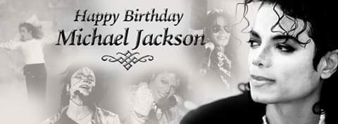Happy 59th birthday to my all time idol Michael Jackson.  xx