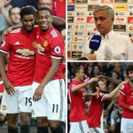 Manchester United pressure off Anthony Martial and Marcus Rashford