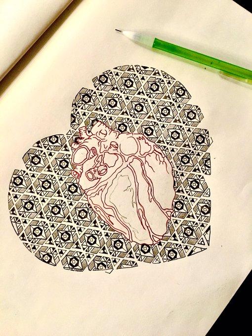 🖤❤️🖤 #Doodle https://t.co/wYzQibLHN6