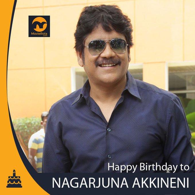 Happy Birthday to Nagarjuna Akkineni.