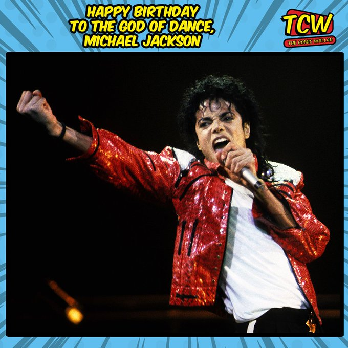 Happy Birthday, Michael Jackson The Legend.