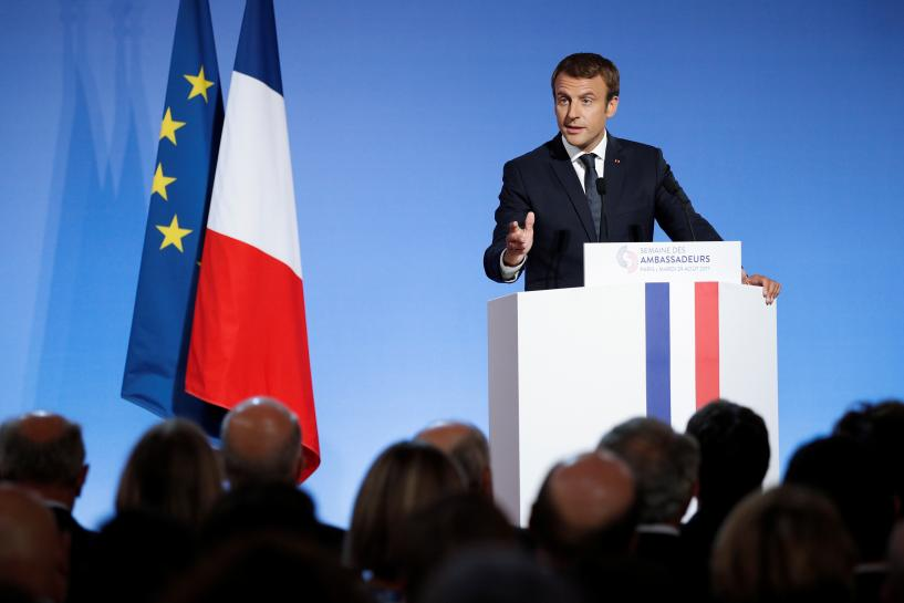 France's Macron says new Syria contact group to meet at U.N. next month