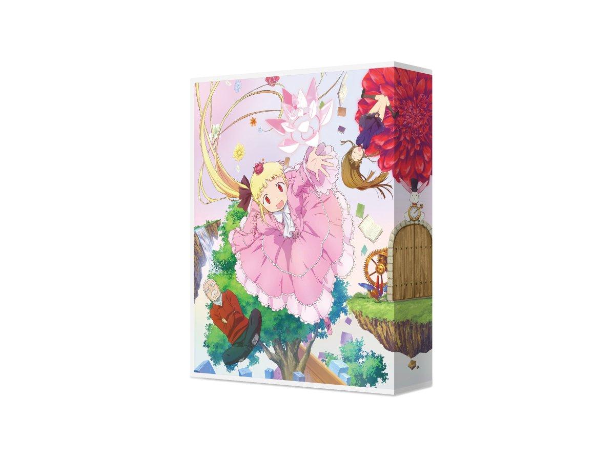 TVアニメ「アリスと蔵六」のBlu-ray Box 1 (特装限定版)のパッケージデザインを担当しました。 CL: バン