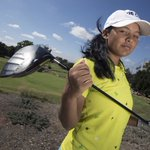 A Nepalese teen who lives in a greenskeeper's hut is golf natural