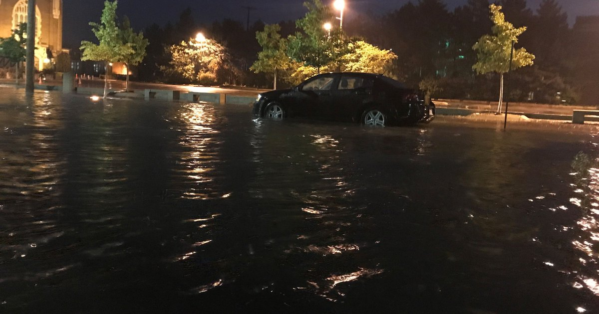 Thousands without power, but flooding cleared from metro Detroit roads