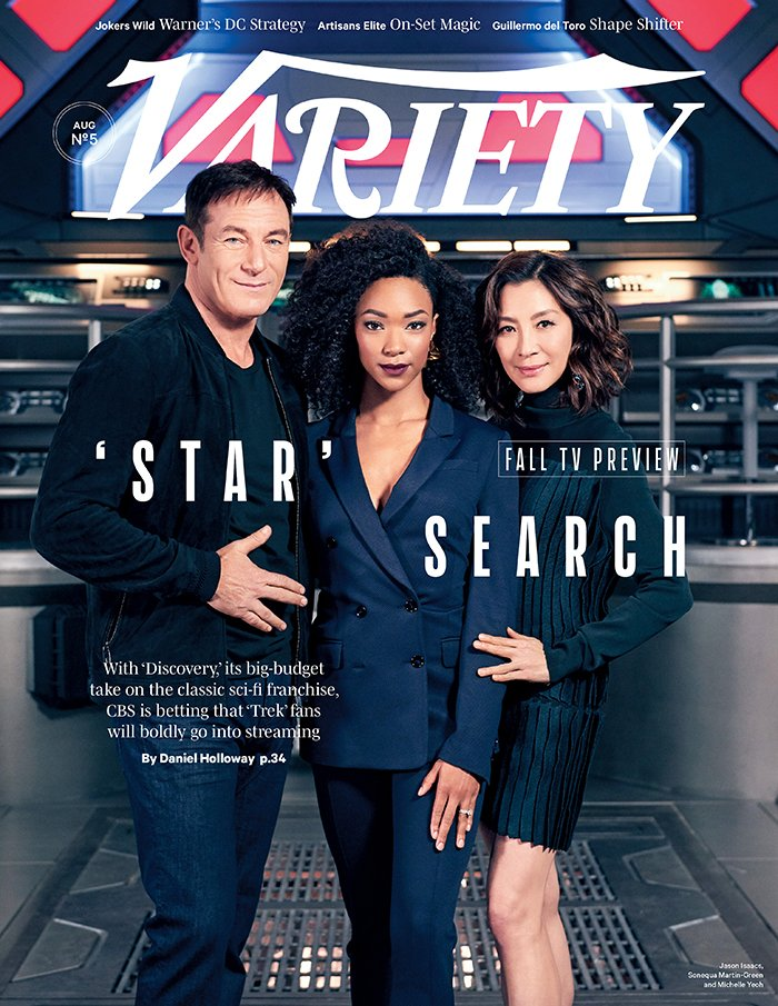 "COVER STORY: Can ""Star Trek: Discovery"" help CBS boldly go into a streaming future?"