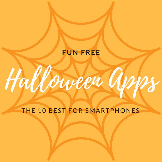 10 Best FREE Fun Halloween Smartphone Apps freebie Halloween